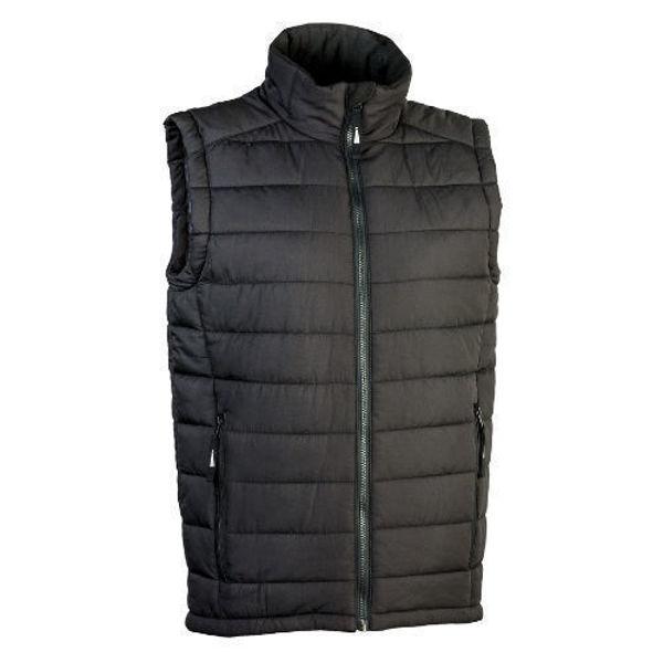 LOMUPV1-Loma-Unisex-Puffer-Vest-Black