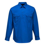 MC903-AdelaideShirt-Long Sleeve-Light Weight-CobaltBlue