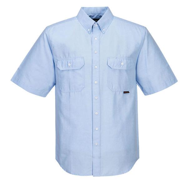 Adelaide-Short-Sleeve-Light-Weight-Shirt-Blue-MS869