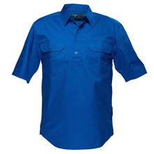 Adelaide-Short-Sleeve-Light-Weight-Shirt-Cobalt-Blue-MC905