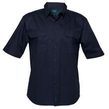 Adelaide-Short-Sleeve-Regular-Weight-Shirt-Navy-MS905