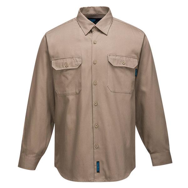 Adelaide-Long-Sleeve-Regular-Weight-Shirt-Khaki-MS903