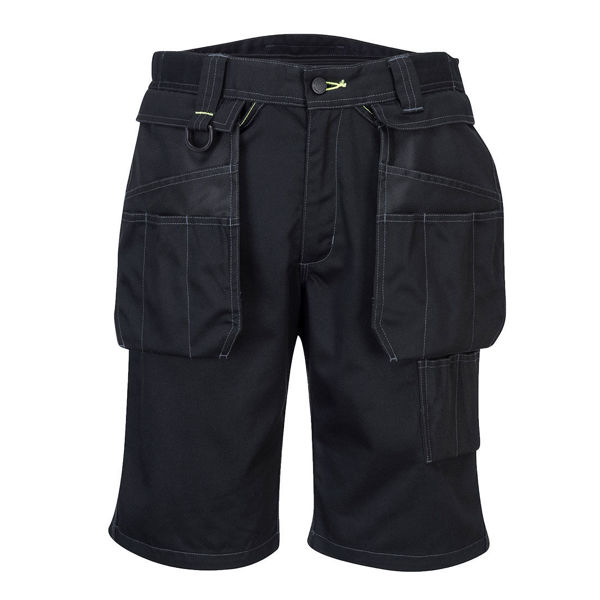 PW3-Removable-Holster-Work-Shorts-Black-PW345