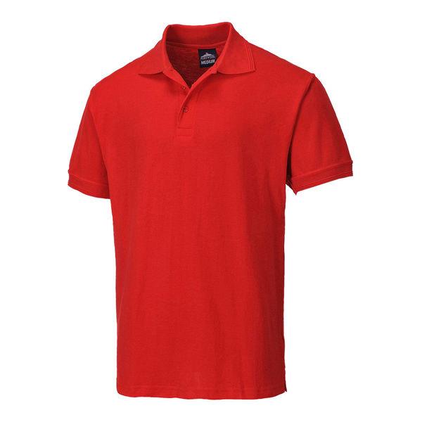 Naples-Polo-Shirt-Red-B210
