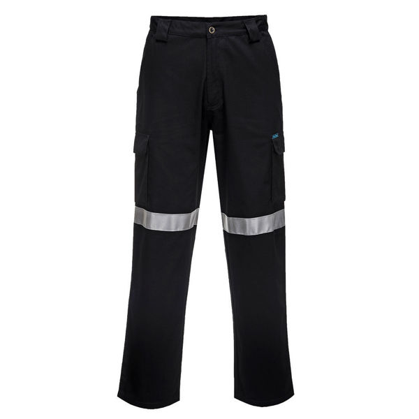 Lightweight-Cargo-Pants-with-Tape-Black-MW71E