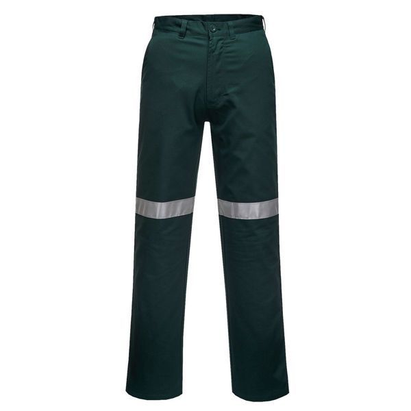 Straight-Leg-Pants-with-Tape-Green-MW705