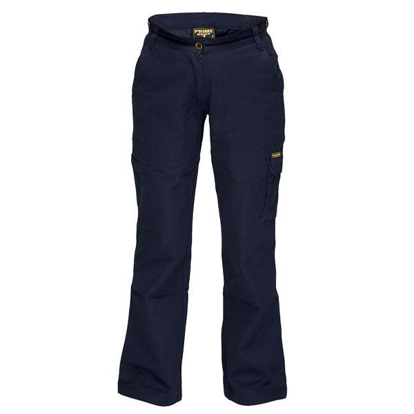 Ladies-Cargo-Pants-Navy-ML708