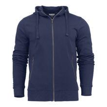 DUMHJ1-Duke-Mens-Hooded-Jacket-Navy-Blue