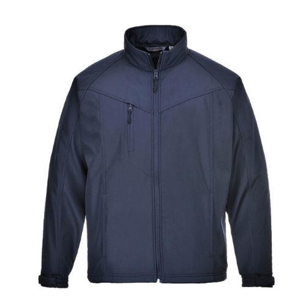 TK40-Oregon-Softshell-Jacket-2-Layer-Navy-Blue