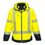T434-PW3-Hi-Vis-Breathable-Jacket-Yellow-Navy