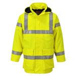 S774 -Bizflame-Rain-Hi-Vis-Multi-Lite-Jacket-Yellow