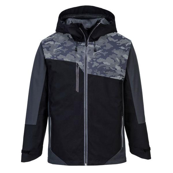S601-Portwest-X3-Reflective-Jacket-Black-Grey