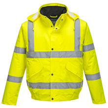S463-Hi-Vis-Bomber-Jacket-Yellow