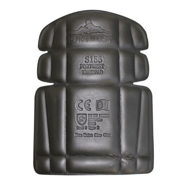 S156-Portwest-Knee-Pad-Black-Front