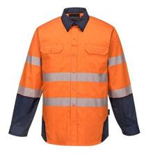 PW372-PW3-Shirt-Orange-Navy