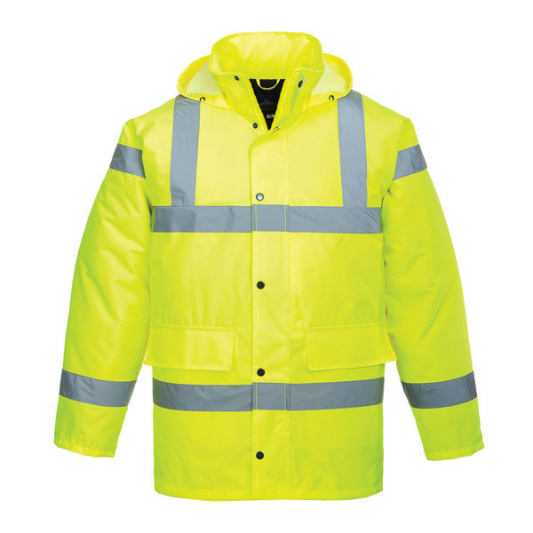 S460-Hi-Vis-Traffic-Jacket-Yellow