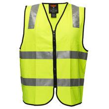 MZ108-Security-Zip-Vest-DN-Yellow