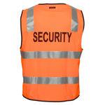 MZ108-Security-Zip-Vest-DN-Orange-Back