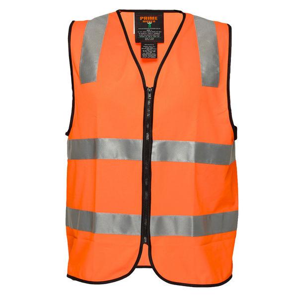 MZ107-Staff-Zip-Vest-DN-Orange