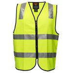 MZ106 -Visitor-Zip-Vest-DN-Yellow