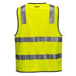 MZ102-Hi-Vis-Zip-Vest-DN-Yellow-Back