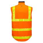 MY214-Polar-Fleece-Vest-with-Micro-Prism-Tape-Orange-Back