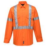 100%-Lightweight-Cotton-Long-Sleeve-Shirt-With-Cross-Back-Tape-Orange