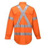 100%-Lightweight-Cotton-Long-Sleeve-Shirt-With-Cross-Back-Tape-Orange-Back