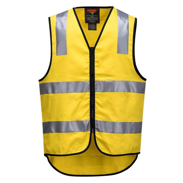 MW338-100%-Cotton-DayNight-Vest-Yellow