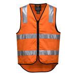 MW338-100%-Cotton-DayNight-Vest-Orange