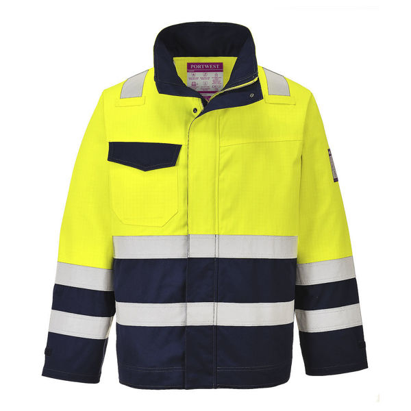 MV25-Hi-Vis-Modaflame-Jacket-Yellow-Navy-Blue