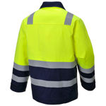 MV25-Hi-Vis-Modaflame-Jacket-Yellow-Navy-Blue-Back