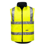 MV214-Polar-Fleece-Reversible-Vest-Yellow
