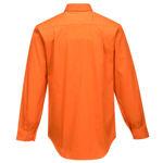 MS988-Hi-Vis-Regular-Weight-Long-Sleeve-Shirt-Orange-Back