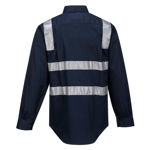 MS908-Brisbane-Shirt-Long-Sleeve-Regular-Weight-Navy-Blue-Back