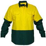 MS801-Hi-Vis-Two-Tone-Lightweight-Long-Sleeve-Shirt-Yellow-Green