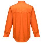 MS301-Hi-Vis-Lightweight-Long-Sleeve-Shirt-Orange-Back