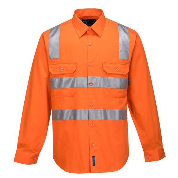 MS191-Hi-Vis-Regular-Weight-Long-Sleeve-Shirt-with-Tape-over-Shoulder-Orange