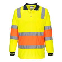 MP511-Two-toned-Biomotion-Polo Shirt-Yellow-Orange