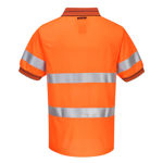 MP510-Short-Sleeve-Micro-Mesh-Polo-with-Tape-Orange-Navy-Back
