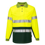 MP513-Long-Sleeve-Micro-Mesh-Polo-with-Tape-Yellow-Green