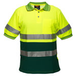 MP310-Short-Sleeve-Cotton-Comfort-Polo-with-Tape-Yellow-Green