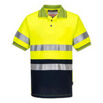 MP310-Short-Sleeve-Cotton-Comfort-Polo-with-Tape-Yellow-Navy