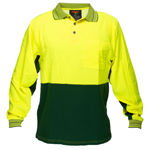 MP213-Long-Sleeve-Cotton-Comfort-Polo-Yellow-Green