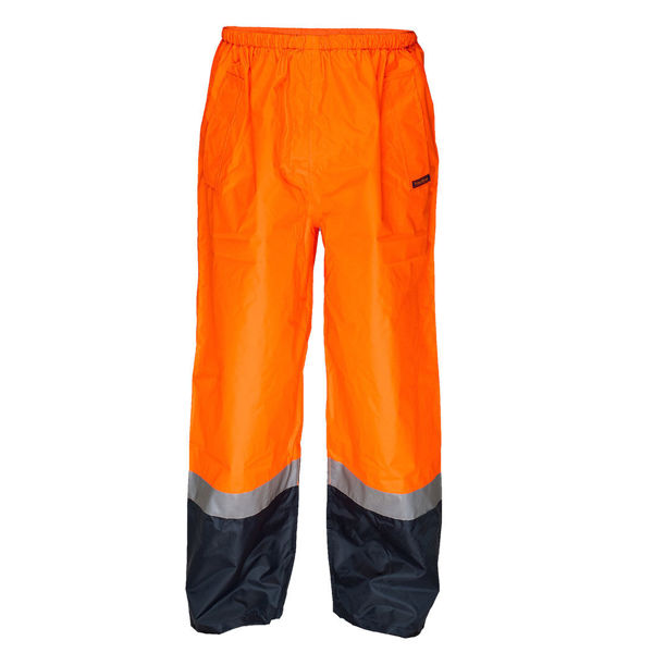 MP202-Wet-Weather-Pull-on-Pants-Orange-Navy