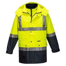 MJ887-Mackay-Anti-Static-4-in-1-Jacket-Yellow-Navy