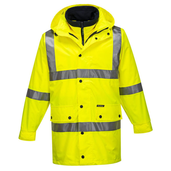 MJ883-Argyle-Full-Day-Night-4-in-1-Jacket-Yellow