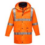 MJ883-Argyle-Full-Day-Night-4-in-1-Jacket-Orange