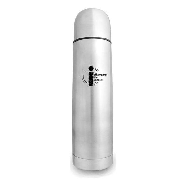 S185-Bullet-Vacuum-Flask-Silver