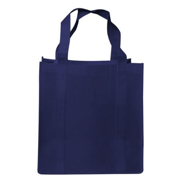 RB1017-Shopping-Tote-Bag-with-Gusset-NavyBlue